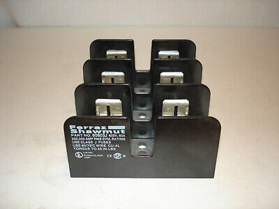 *LOT* (2) Ferraz Shawmut 60603J Fuse Holder 60A 600V  *NEW*