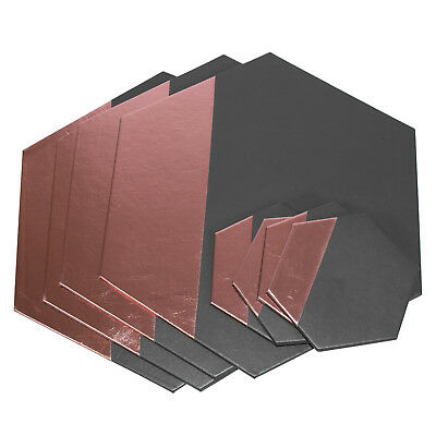 Set of 4 Placemats & Coasters Table Place Settings Mats Grey Pink Faux Leather