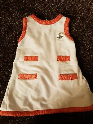 baby girl Moncler dress 9-12 months