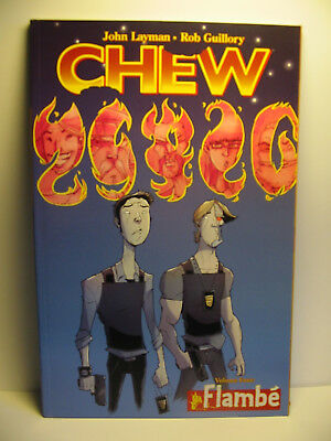 Chew vol 4 Flambe paperback very good condition first printing Sept 2011