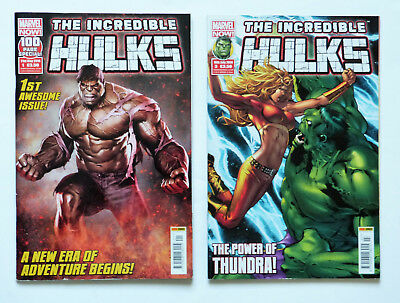 2 x The Incredible Hulks: No.1 & No.3, Marvel Now 2014.