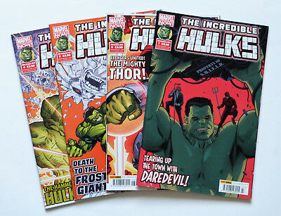 4 x The Incredible Hulks: No's 4,5,6 & 7, Marvel Now 2014.