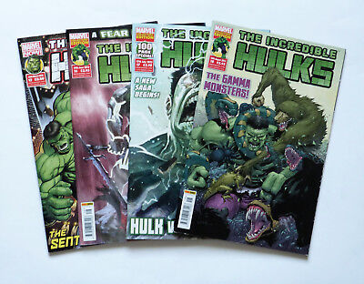 4 x The Incredible Hulks: No's 12,16,17 & 18, Marvel Now & Marvels Collect 2013.