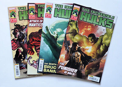 4 x The Incredible Hulks: No's 19,20,21 & 22, Marvels Collectors Editions 2013.