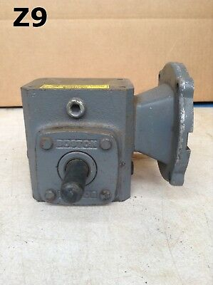 Boston Gear F7105B46 Right Angle C-Face Gear Drive/Speed Reducer 0.6HP 5:1