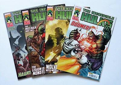 4 x The Incredible Hulks: No's 23,24,25 & 27, Marvels Collectors Editions 2014.