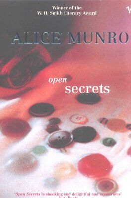 Very Good 009945971X Paperback Open Secrets Alice Munro