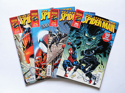 4 x The Astonishing Spider-Man: No's. 147,148,149 & 150, Marvel Collectors Ed's