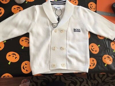 hugo boss baby sweater