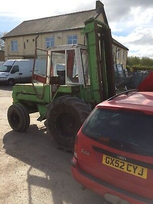 MANITOU ROUGH TERRAIN FORKLIFT Spares Or Repairs forklift Fork truck