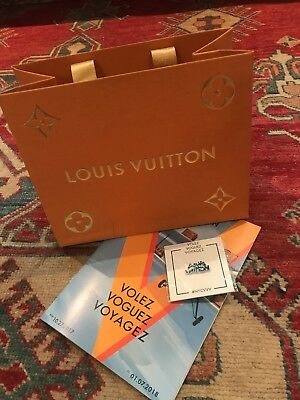 Brand New Louis Vuitton Pin Volez Voguez Voyagez