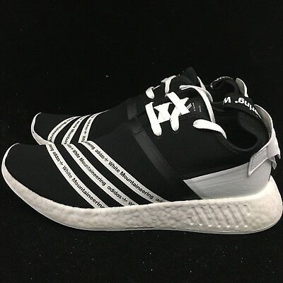 25c69006e1d32 Adidas WM NMD R2 PK White Mountaineering Primeknit Boost Black White CG3648  New