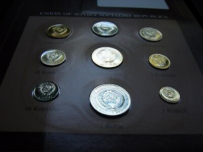 Franklin Mint Coin Set Of All Nations .++.russian Coins Appear Proof!+