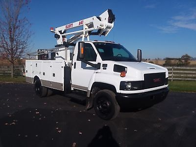 NO CDL NEEDED * 46' 2009 GMC C5500 Bucket Boom Lift Truck Chevrolet Chevy GM