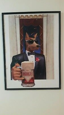 Dogbolter - Cool Slick Dog in Sunnies & Suit holding Stein