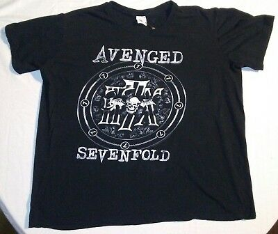 Avenged Sevenfold T Shirt - 2XL - read measurements!