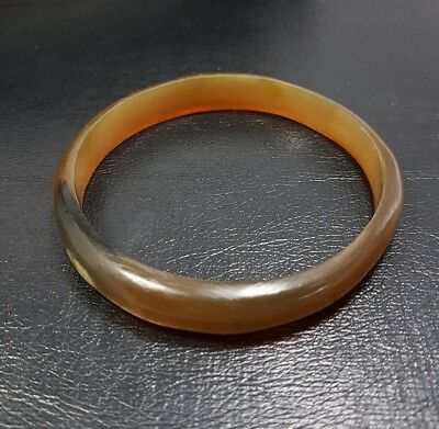 Very old African horn type bangle