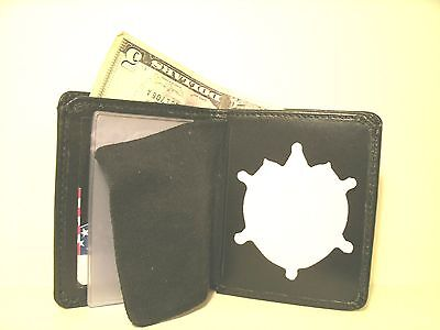 ST.Mary's County MD Sheriff's Badge ID Wallet BLACKINTON B-7769 Leather CT-06