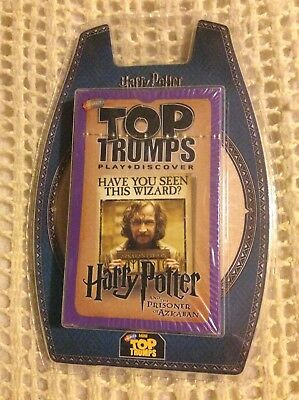 Top Trumps - Harry Potter And The Prisoner Of Azkaban - New & Sealed