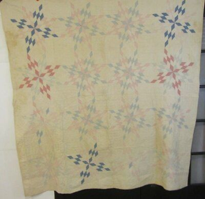 Farmhouse PA Touching Stars VINTAGE Quilt Cutter Stacker