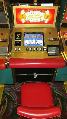 Igt Sit Down Poker Machines/games (Last Chance Will Not Be Relisted!!!)