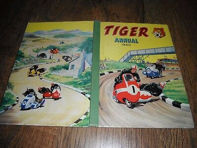 Tiger 1960 Annual Roy Of The Rovers Biff Bailey Terry Truman Rockfist Rogan