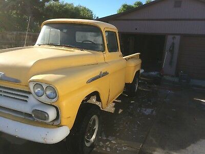 1958 Chevrolet Other Pickups Truck 58 chevy truck