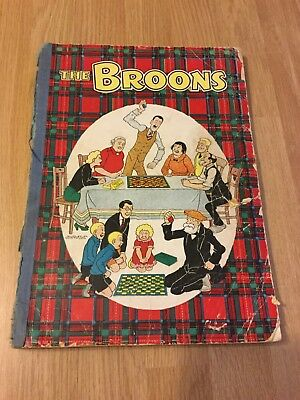 The broons 1950s comic annual d c Thomson & co