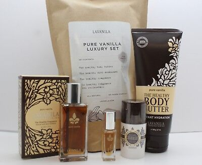 LaVanila Pure Vanilla Luxury Holiday Gift Set, 100% Healthy (NEW!) 4 ct.