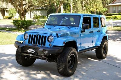 "2017 Jeep Wrangler UNLIMITED 2017 JEEP WRANGLER UNLIMITED 4X4, 4"" FACTORY LIFT,NAV, REMOTE START, POWER STEPS"