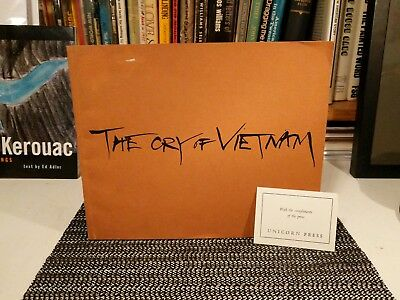 The Cry of Vietnam, Thich Nhat Hanh illus. VO-DINH 1st Ed. 1968 Unicorn Press