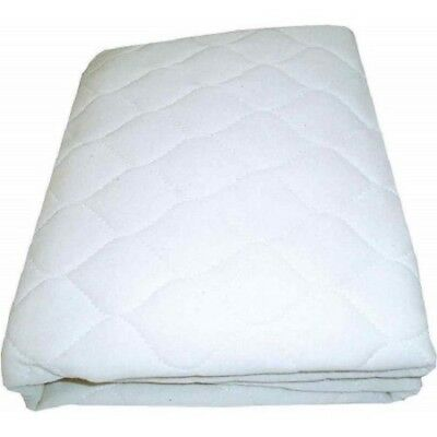 American Baby Company Portable/Mini Crib Mattress Pad Cover, White, New
