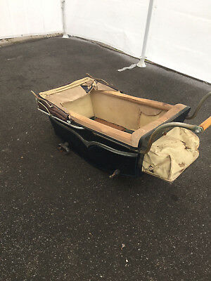 Antique Baby Carriage by Victoria Baby Carriages, Bronx, NY possibly 1940's