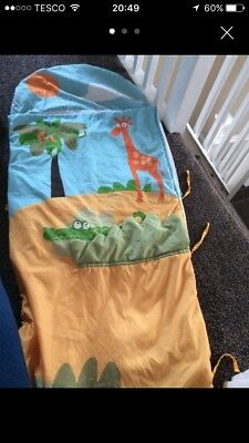Boys Kiddiecare jungle crocodile Sleeping Bag 6-36 Months