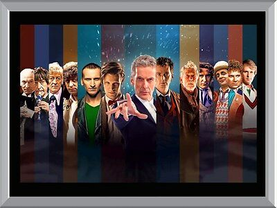 Doctor Who, The Doctors A1 To A4 Size Poster Prints