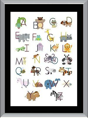 ABC Chart 1 A1 To A4 Size Poster Prints