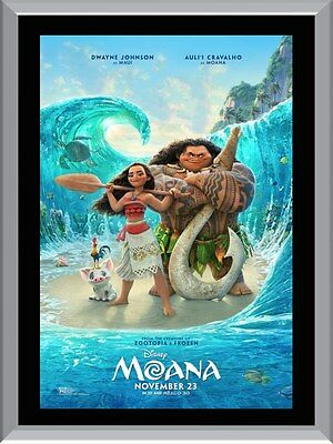 Moana Movie A1 To A4 Size Poster Prints