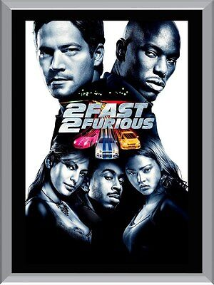2 Fast 2 Furious A1 To A4 Size Poster Prints
