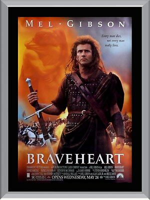 Braveheart Movie A1 To A4 Size Poster Prints