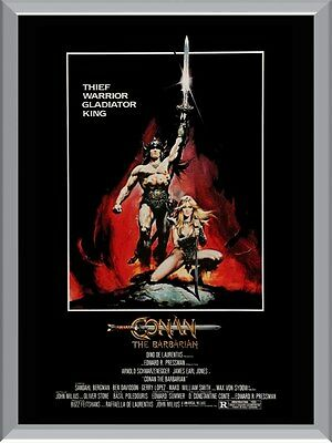 Conan The Barbarian Movie A1 To A4 Size Poster Prints
