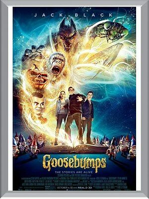 Goosebumps Movie A1 To A4 Size Poster Prints