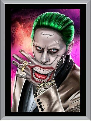 Suicide Squad Jokers Mouth A1 To A4 Size Poster Prints