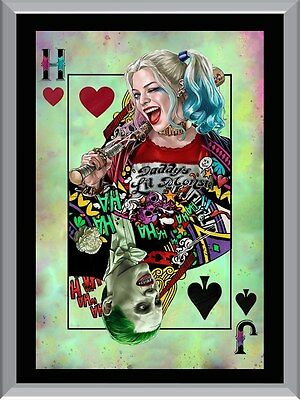 Harley and Joker A1 To A4 Size Poster Prints