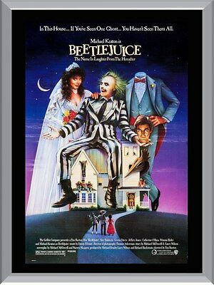 Beetlejuice Movie A1 To A4 Size Poster Prints