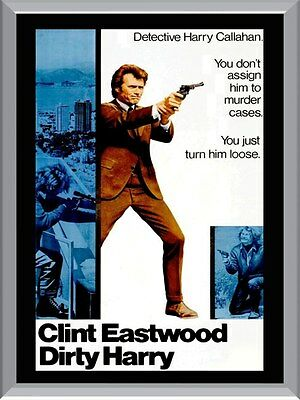 Dirty Harry Movie A1 To A4 Size Poster Prints