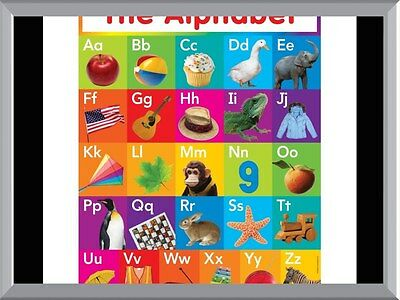 Alphabet Squares A1 To A4 Size Poster Prints