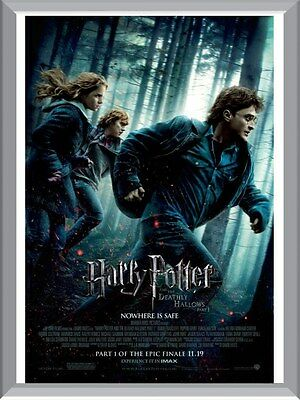 Harry Potter & The Deathly Hallows  A1 To A4 Size Poster Prints