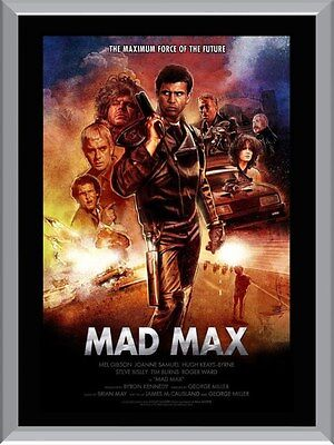 Mad Max A1 To A4 Size Poster Prints