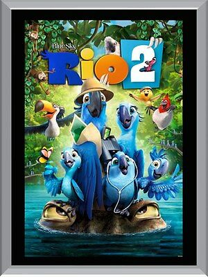 Rio 2 Movie A1 To A4 Size Poster Prints