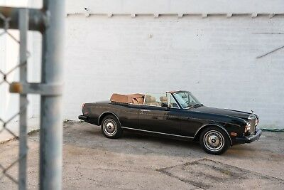 1991 Rolls-Royce Corniche  1991 Rolls Royce Corniche Series III, Two Owner, All Serviced, Collector Quality